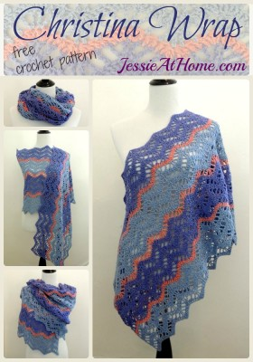Christina Wrap ~ free crochet pattern by Jessie At Home