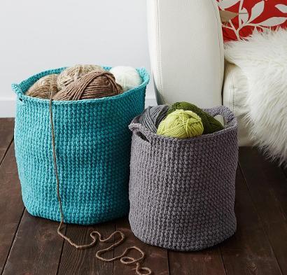Stash Basket Kit #CrochetKit from @beCraftsy