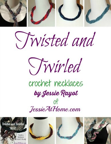 Twisted and Twirled Crochet Necklaces eBook