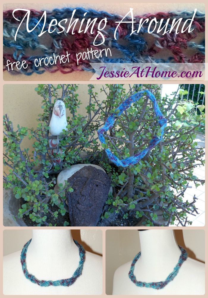Meshing Around - free crochet pattern by Jessie At Home
