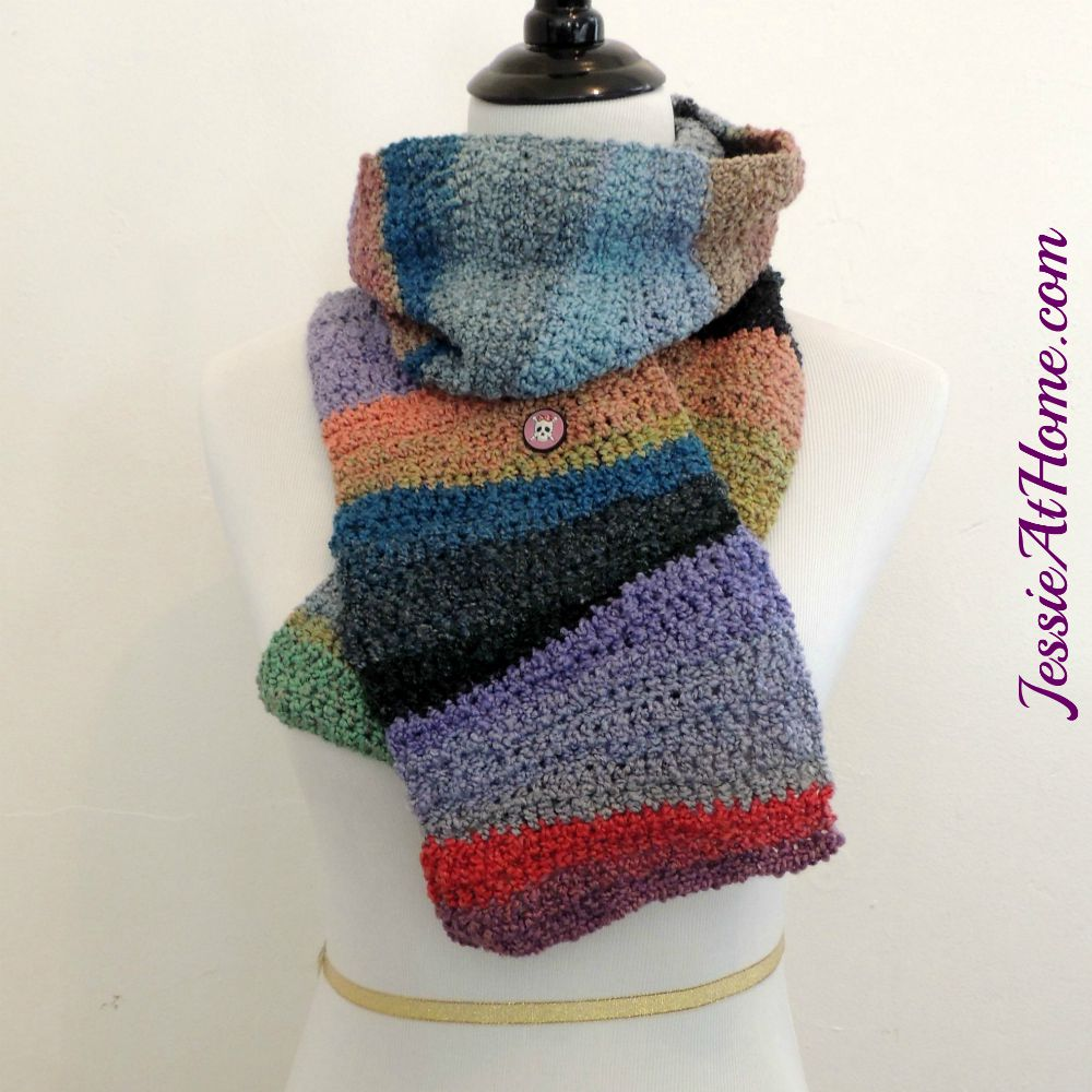 Textured-Waves-Scarf-free-crochet-pattern-by-Jessie-At-Home
