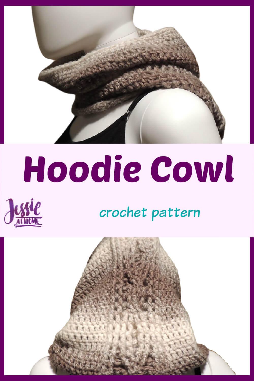 Crocheted Hoodie Cowl