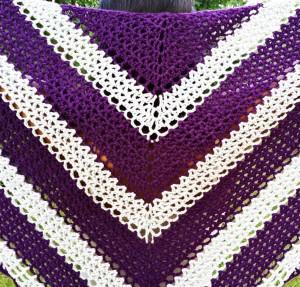 Lattice Comfort Shawl Kit #CrochetKit from @beCraftsy
