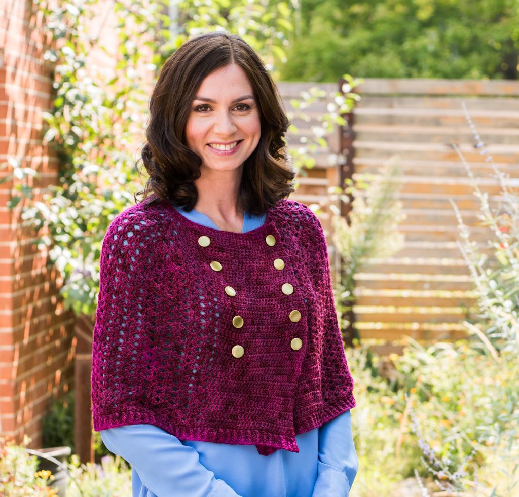 Stillhet Cape Kit #CrochetKit from @beCraftsy