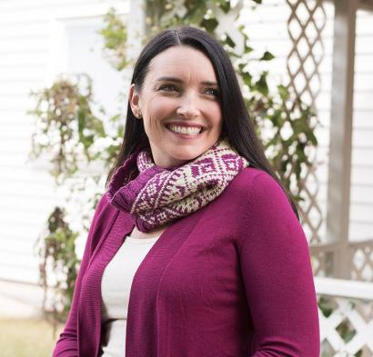 Valdres Cowl #KnitKit from @beCraftsy