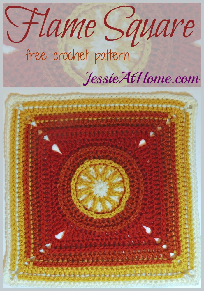 151210 Flame Square - free crochet pattern by Jessie At Home