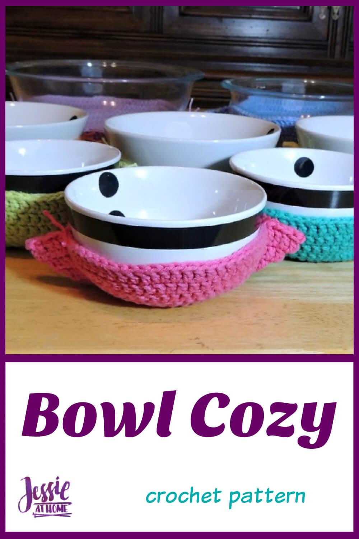 Crochet Bowl Cozy for Hot Bowls