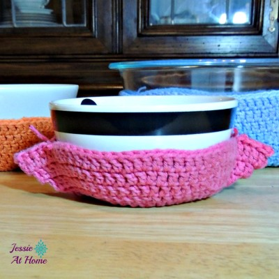 Crochet Bowl Cozy Jessie At Home
