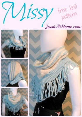 Missy ~ free knit pattern by Jessie At Home