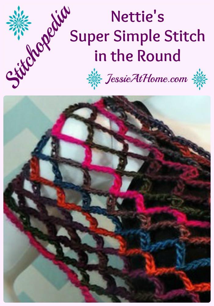 Nettie's Super Simple Stitch in the Round - Pin