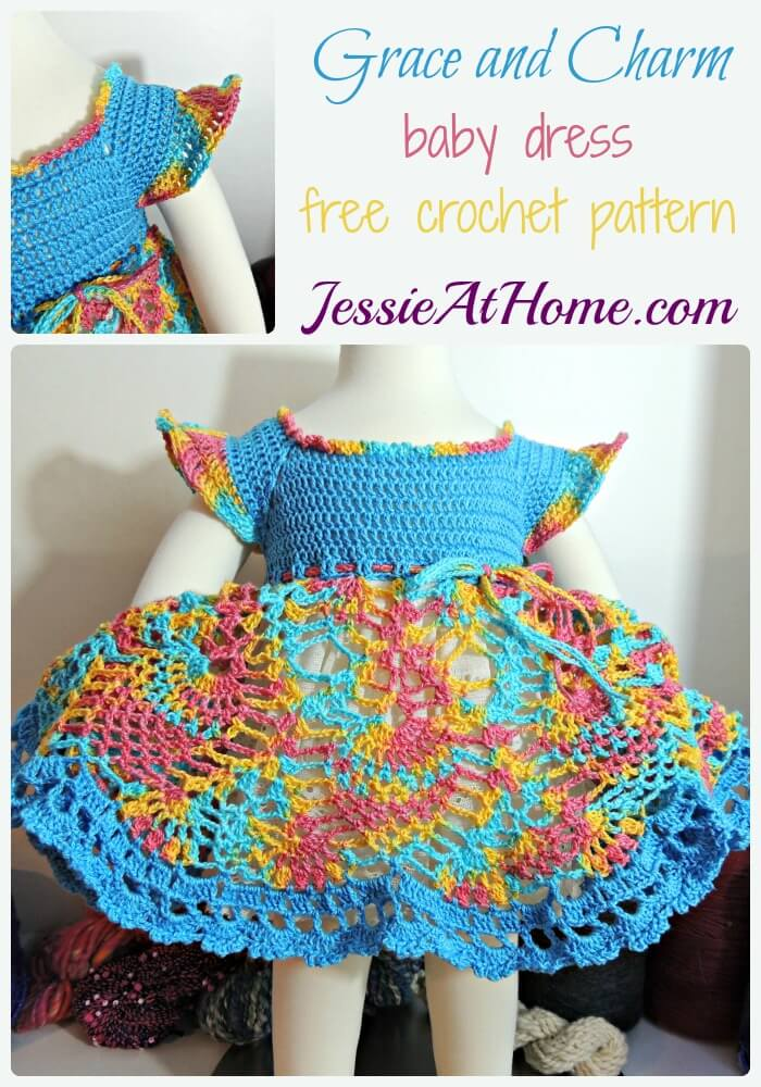 Grace and Charm free crochet pattern by Jessie At Home