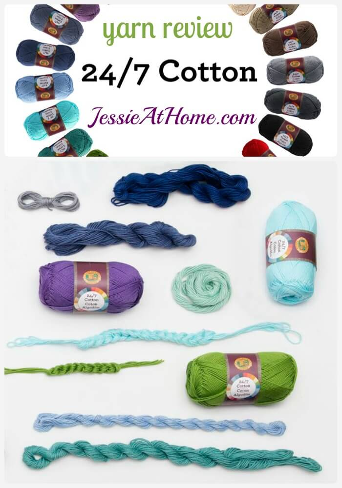 Lion Brand 247 yarn review from Jessie At Home