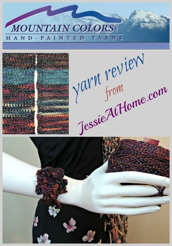 Mountain Colors yarn review from Jessie At Home