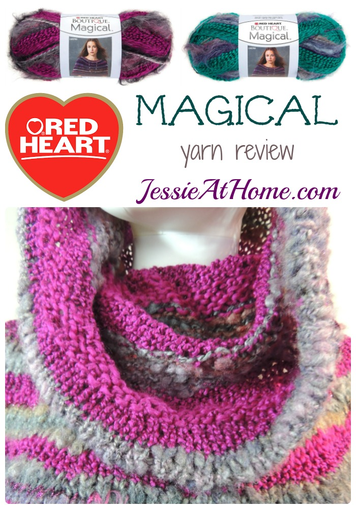 Red Heart Magical Yarn - review from Jessie At Home