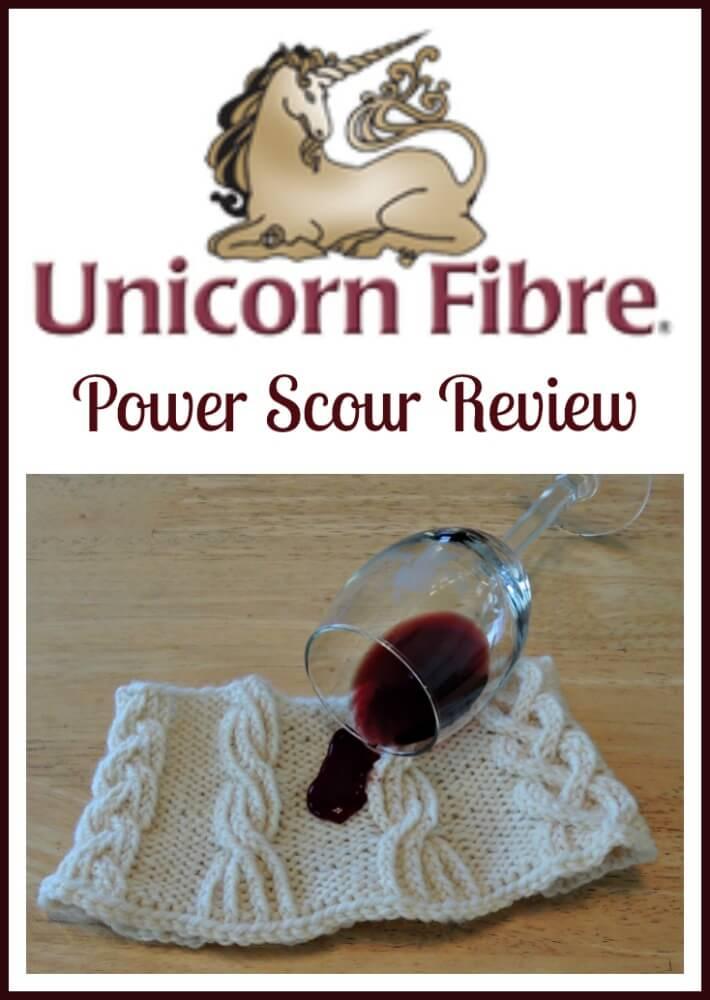 Unicorn Fibre Power Scour stain remover review