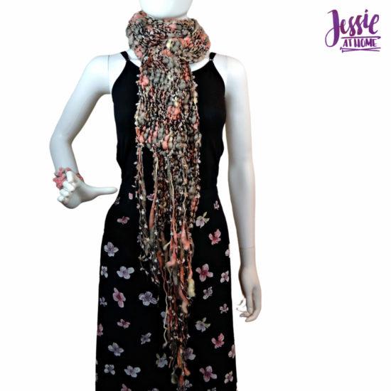Basic Boho Knit Scarf knit pattern by Jessie At Home - 2
