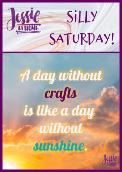 Can't Miss A Day - Silly Saturday from Jessie At Home - Pin 1