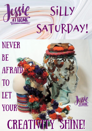 Let Your Creativity Shine - Silly Saturday from Jessie At Home - Pin