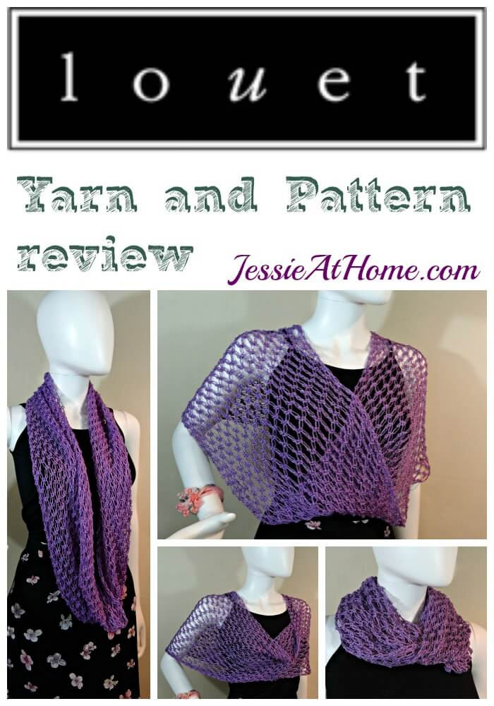 Louet yarn and pattern review from Jessie At Home