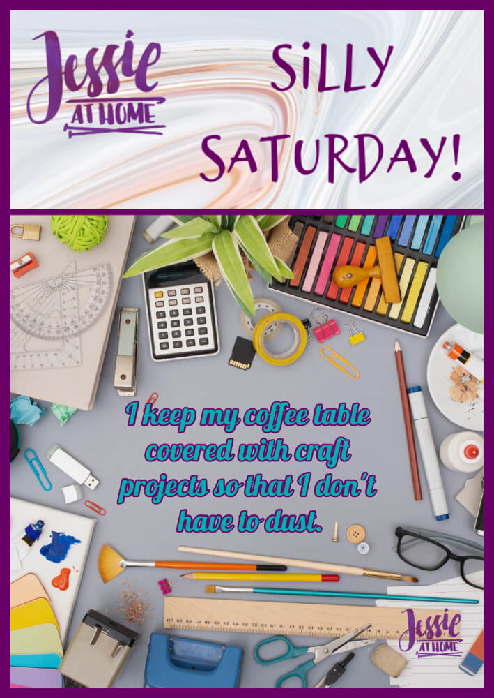 Crafting Not Dusting – Silly Saturday