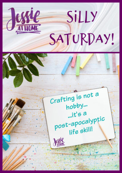 Crafty Skills - Silly Saturday from Jessie At Home - Pin 1