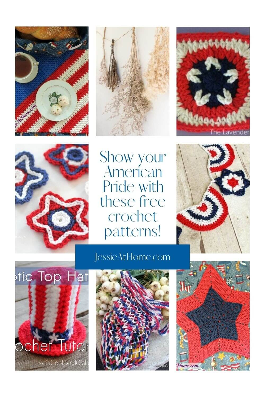 Patriotic Crochet - Show your spirit!!