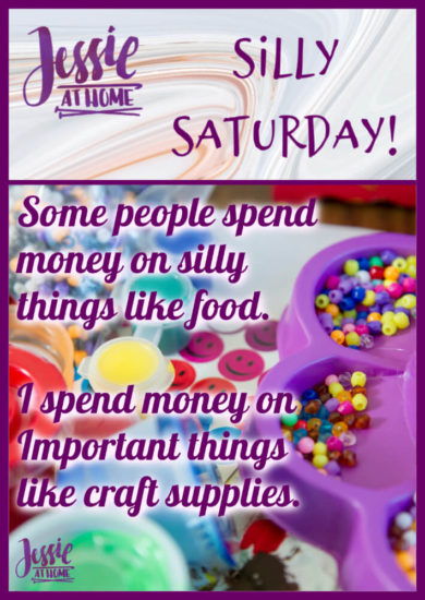 Impotant Craft Supplies - Silly Saturday from Jessie At Home - Pin 1