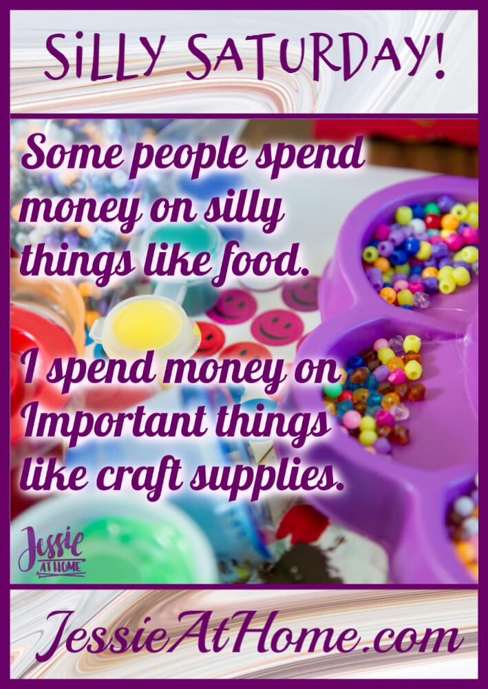 Important Craft Supplies - Silly Saturday