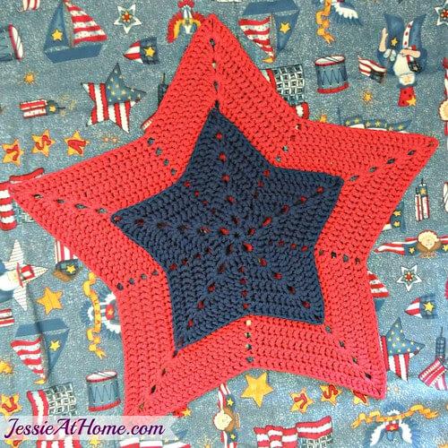 Star Trivet or Centerpiece