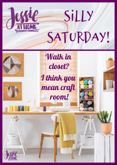 Craft Room - Silly Saturday from Jessie At Home - Pin 1