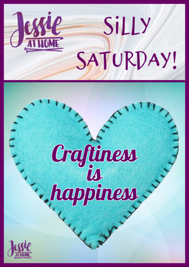 Craftiness is Happiness - Silly Saturday from Jessie At Home - Pin 1