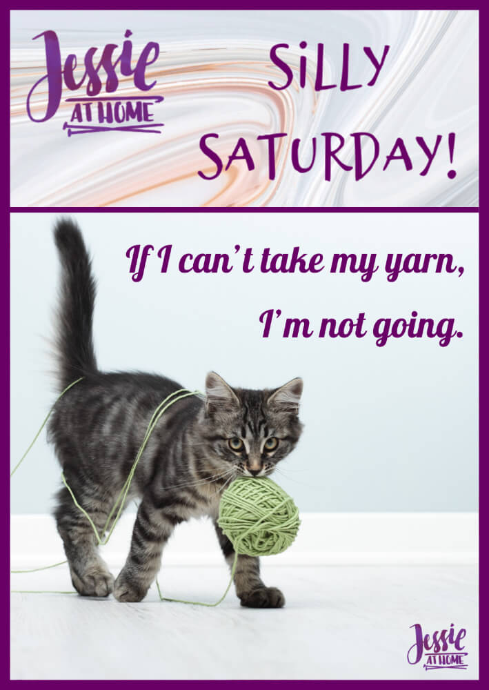 I'm Taking My Yarn – Silly Saturday