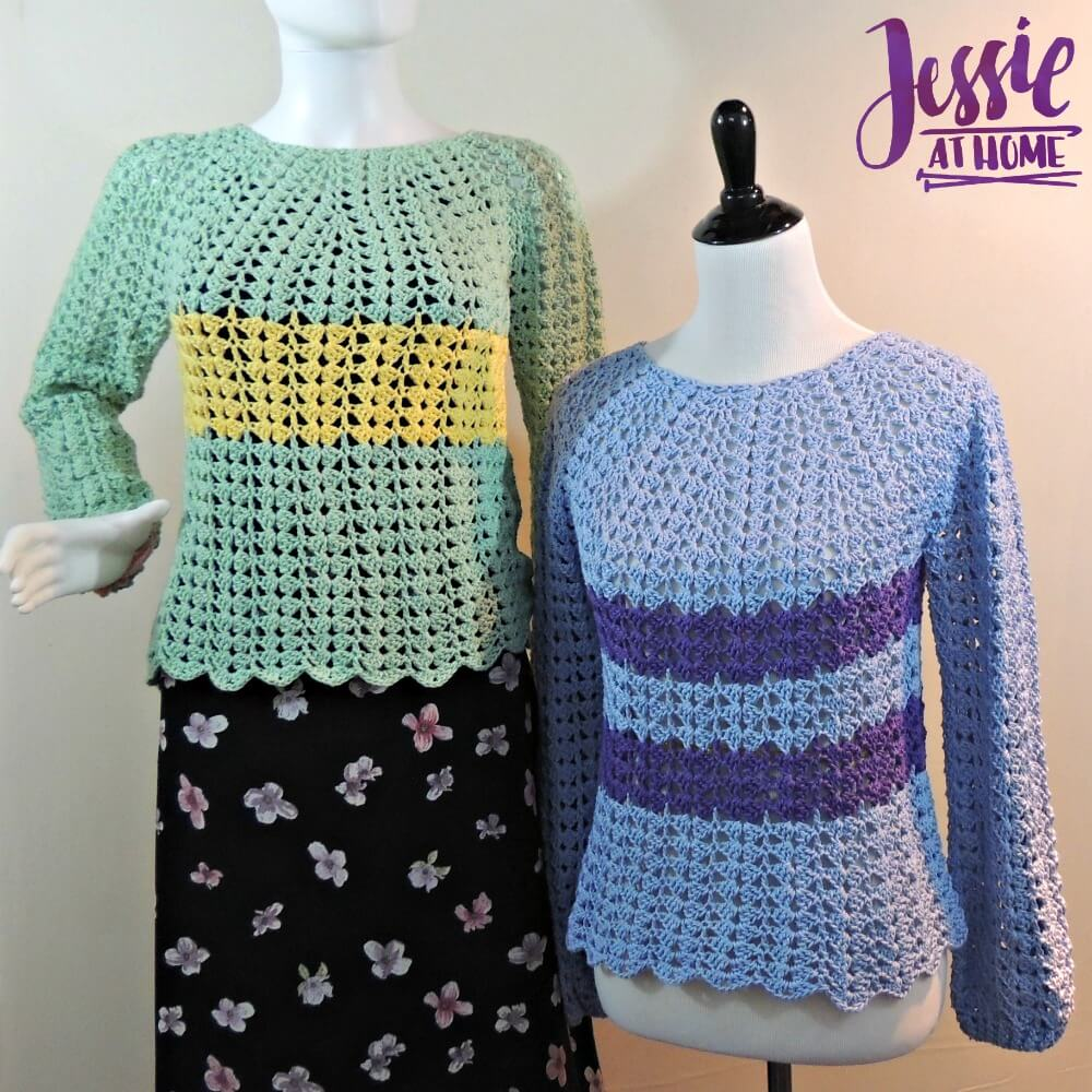 Free Crochet Patterns For The Home : Best Friend Sweaters - free crochet pattern! Jessie At Home