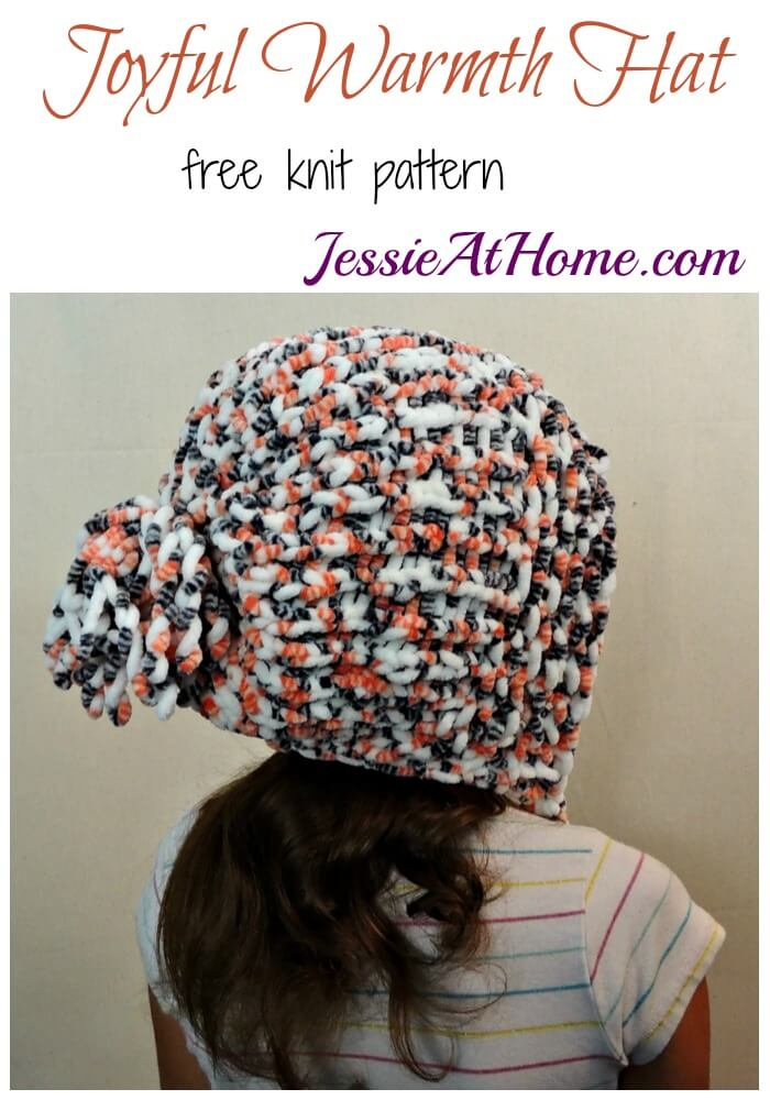 Joyful Warmth Hat - free knit pattern by Jessie At Home