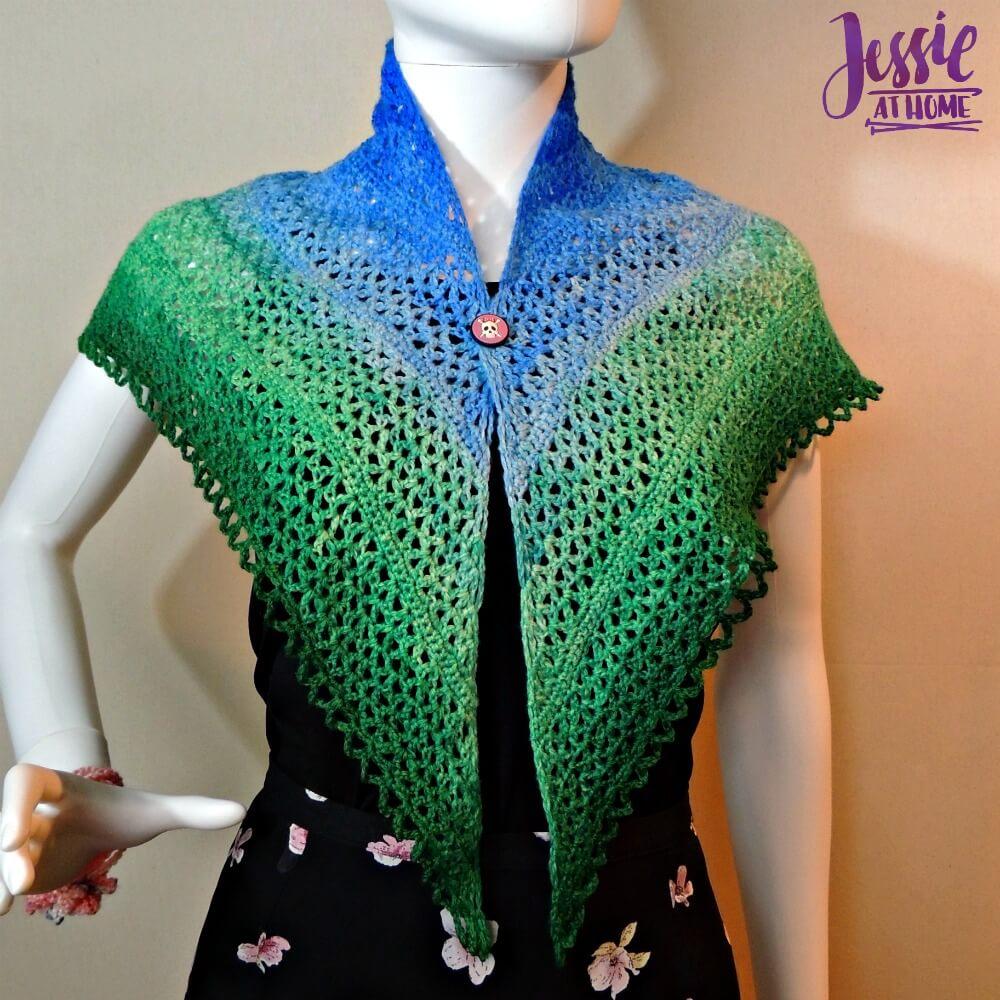 Julie Shawl - free crochet pattern by Jessie At Home - 1