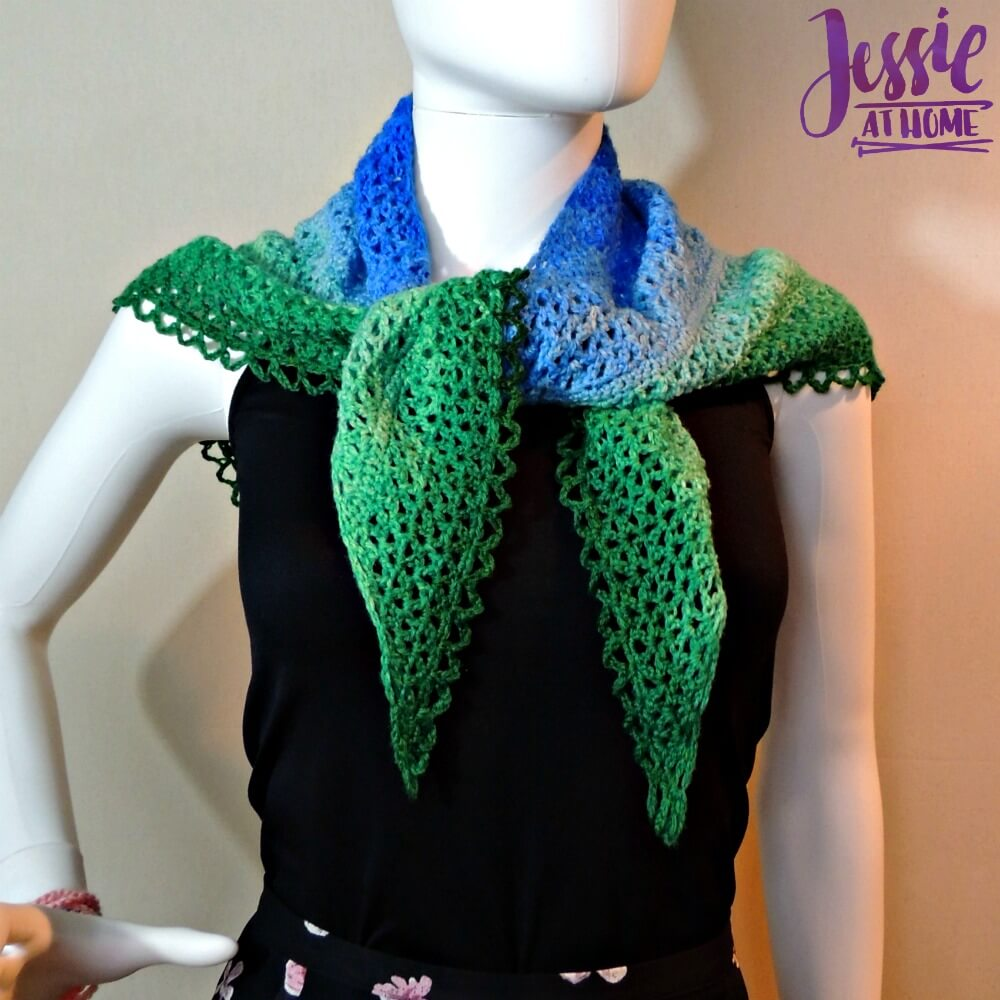 Julie Shawl - free crochet pattern by Jessie At Home - 2