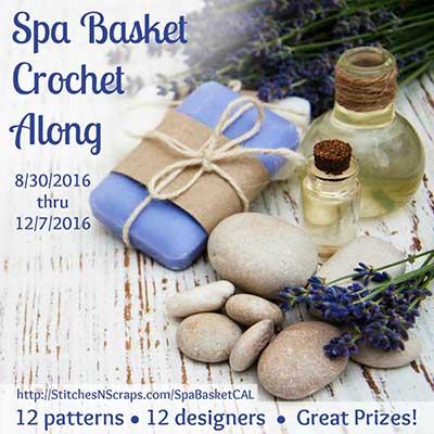 Spa Basket Crochet Along