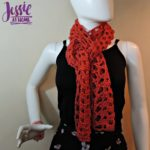 Trellis Scarf - free crochet pattern by Jessie At Home - 1