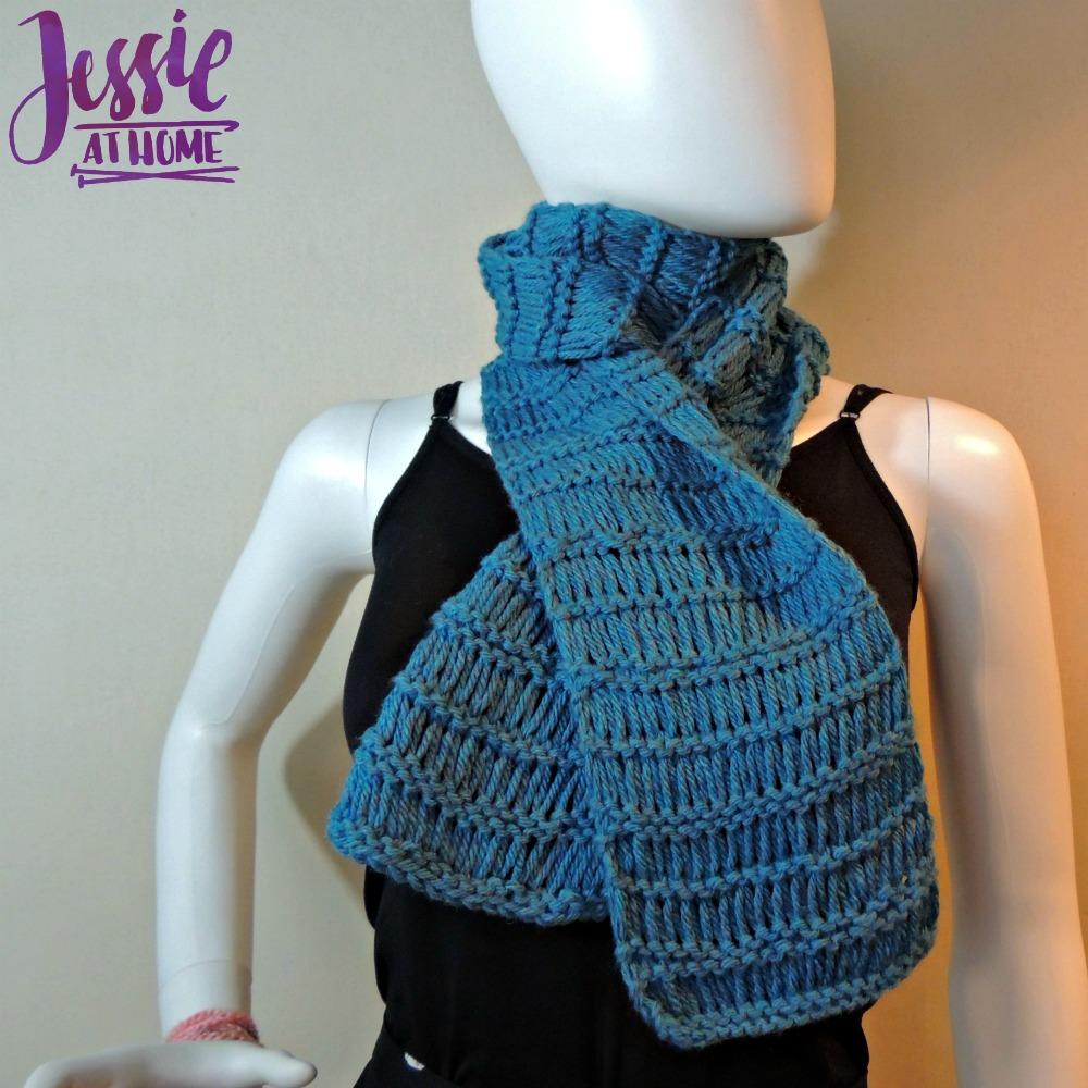Knit Drop Stitch Shawl Pattern : Basic Drop Stitch Scarf Jessie At Home