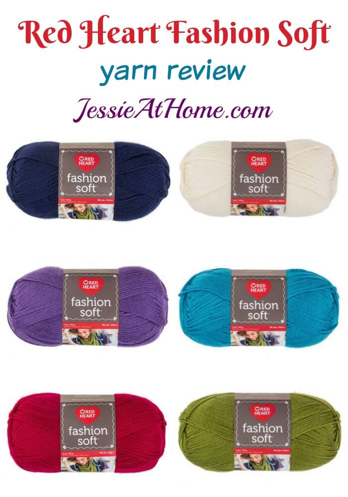 Red Heart Fashion Soft yarn review from Jessie At Home