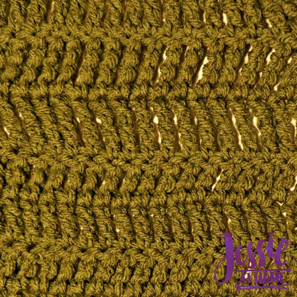 Stitchopedia Treble Crochet and Double Treble Crochet from Jessie At Home