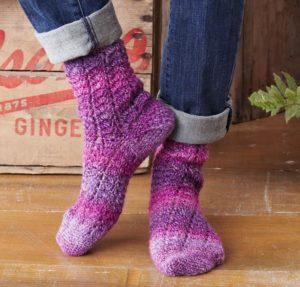 Twisting Lace Socks Craftsy Crochet Kit