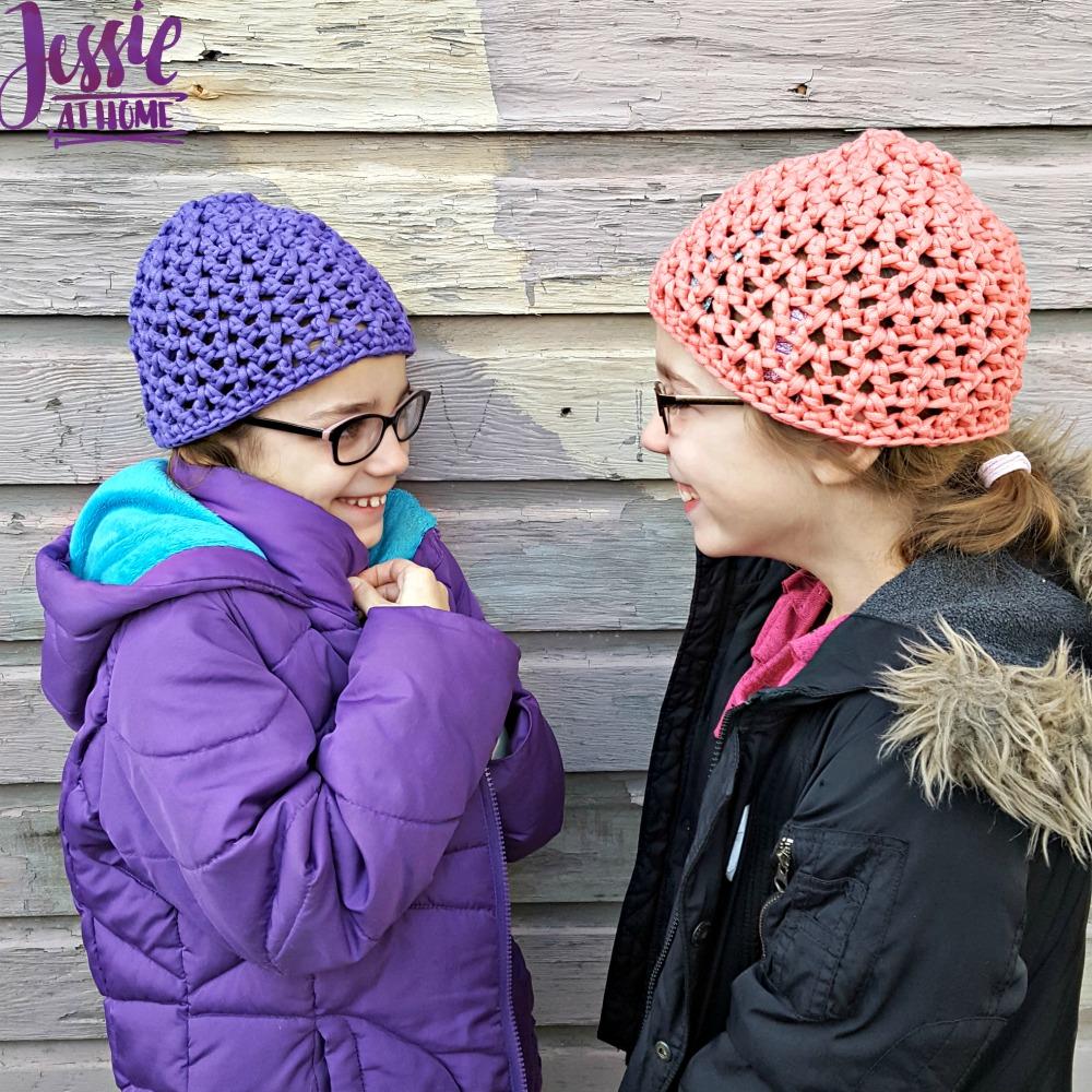 V-Stitch Hats free crochet pattern by Jessie At Home - 1