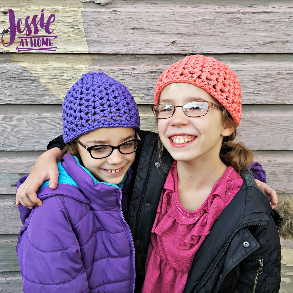 V-Stitch Hats free crochet pattern by Jessie At Home - 3