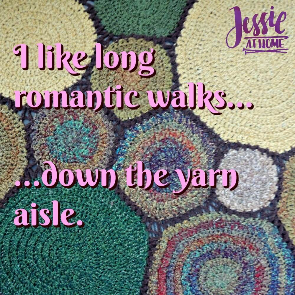 Silly Saturday 6/8/19 - romance in the yarn
