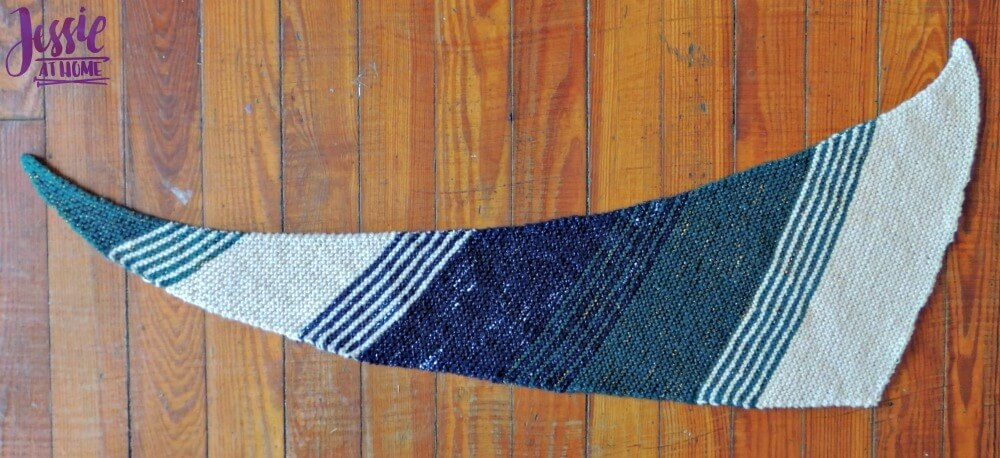 Wedge free knit pattern by Jessie At Home - 5