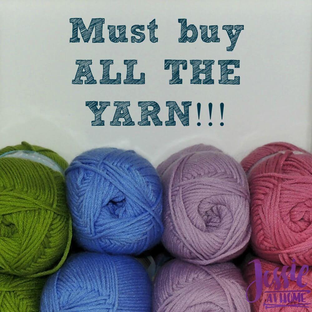All the yarn