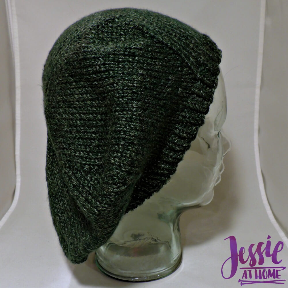 Basic Beret free crochet pattern by Jessie At Home - 3