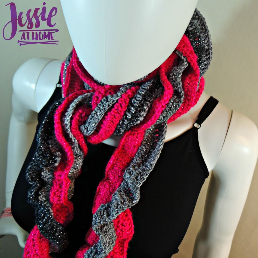 Glitter and Shine Scarf free crochet pattern by Jessie At Home - 1