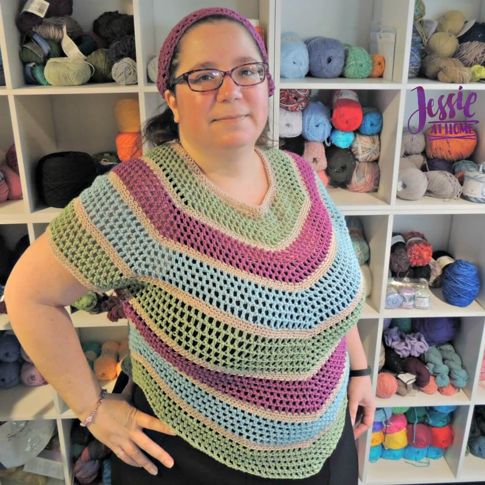 Hexed Crochet Pattern by Jessie At Home - 1